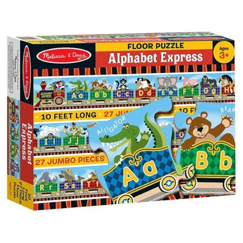 And Doug Floor Puzzles by Doug 174 Alphabet Express Floor Puzzle Target