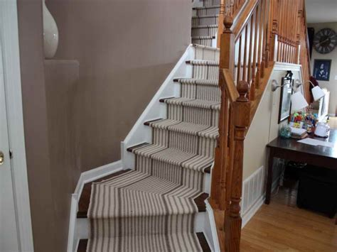 stair tread runners lowes non slip carpet stair treads lowes style installing