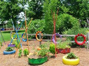 how to decorate your garden with tires 2 With how to decorate your garden