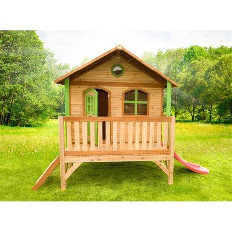 cabane enfant bois cabane en bois pour enfant stef axi deco