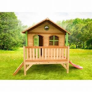 Cabane En Bois De Jardin : cabane en bois pour enfant stef axi eden deco ~ Dailycaller-alerts.com Idées de Décoration