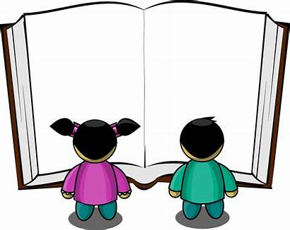 Reading Clipart Children Kid Books Clip Amino