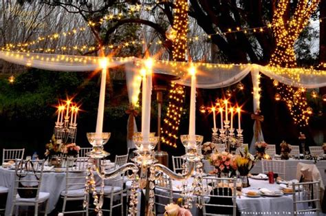 fairy light wonderland garden wedding