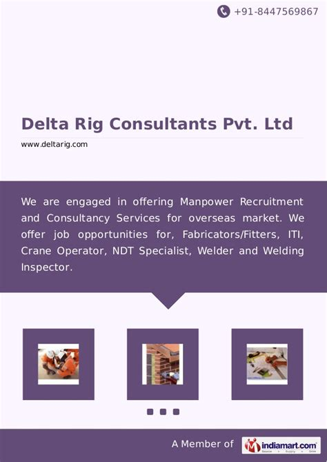 delta rig consultants pvt ltd mumbai placement agencies