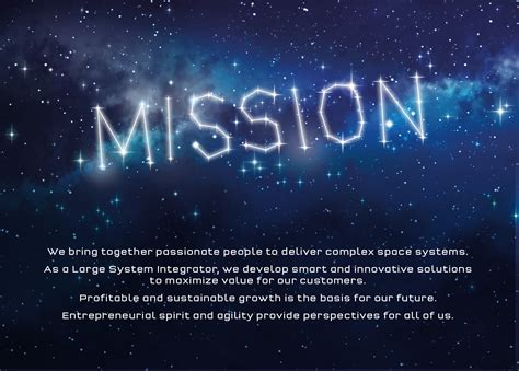Mission Vision - OHB System ENG