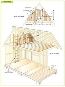 Cabin With Loft Plans Free by Free Wood Cabin Plans Free Step By Step Shed Plans