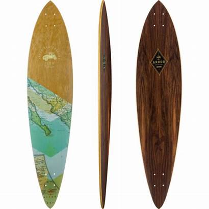 Fish Arbor Longboard Series Skateboard Groundswell Complete