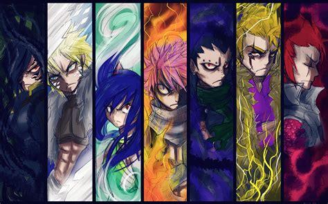dragon slayers fairy tail  animewallpaper