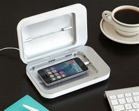PhoneSoap Smartphone Sanitizer Eliminates Germs and