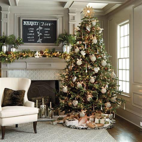 fir christmas tree ideas noble fir tree winter neutrals noble fir tree
