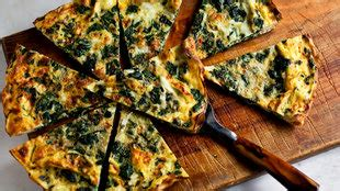 mushroom  spinach frittata recipe nyt cooking