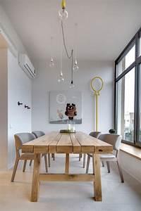la salle a manger scandinave en 67 photos With salle À manger contemporaine avec meuble design scandinave