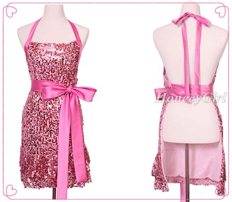 Girly Kitchen Aprons by Hg 524 Delicate Bowknot Kitchen Apron Halter Apron