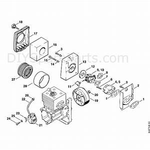 Stihl Br 400 Backpack Blower  Br 400  Parts Diagram  C