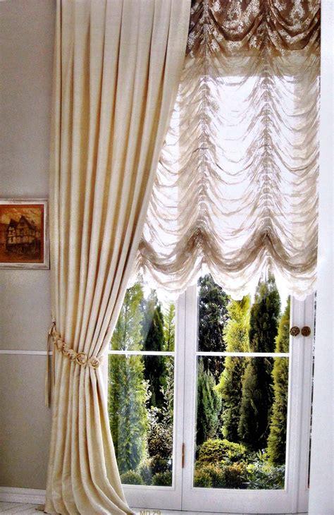 Best Modern Sheer Austrian Curtains Drapery Decorative