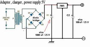 Adapter  Power Supply And Charger Circuit