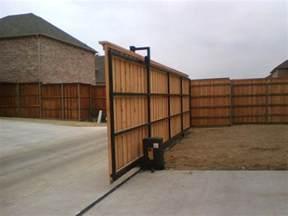 Electric Sliding Driveway Gate Fence
