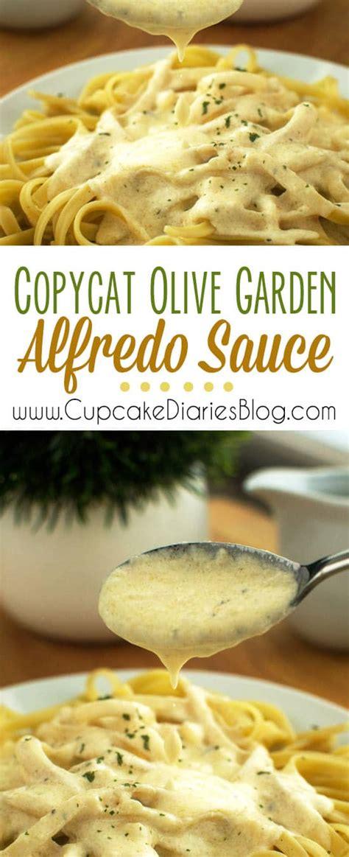 olive garden alfredo recipe copycat olive garden alfredo sauce