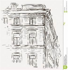 croquis d39une maison illustration de vecteur illustration With croquis d une maison