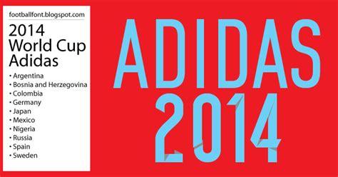font vector alemanha adidas 2014 font football fonts fifa world cup 2014 adidas jersey font