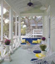 Screened In Front Porch Decorating Ideas by Four Beautiful Porches Design Ideas