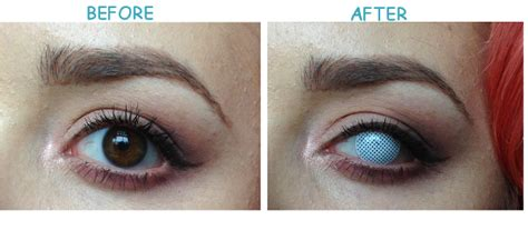 blind eye contacts paradise contact lens review miranda richards