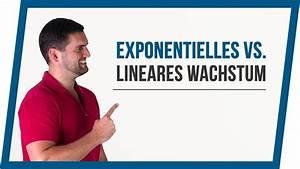 Exponentielles Wachstum Wachstumsfaktor Berechnen : exponentielles wachstum vs lineares wachstum mathe by ~ Themetempest.com Abrechnung