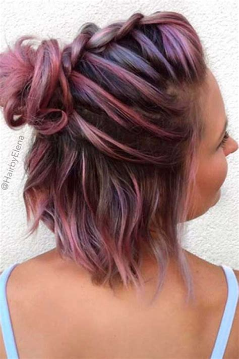 short hair color ideas short hairstyles