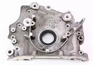 Front Crank Seal Flange Plate 2 8 2 7t V6 Vw Passat Audi
