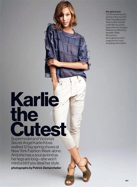 Karlie The Cutest Kloss Patrick Demarchelier