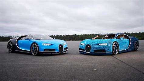 Life-size, Drivable Bugatti Made Out Of 1 Million Legos