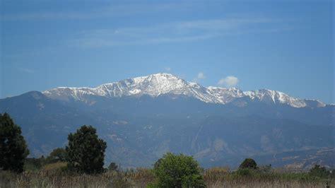 pikes peak in colorado travel tourism