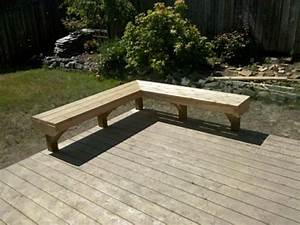 Built In Deck Benches Plans Interior Designs