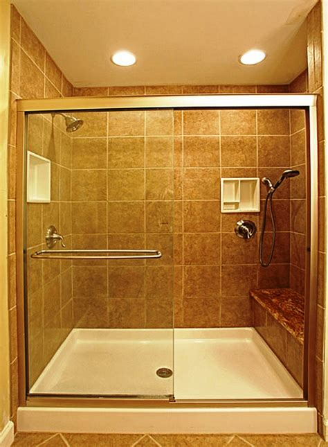 Shower Stall Designs Small Bathrooms by Corner Bathroom Shower Stalls For Small Bathrooms Corner