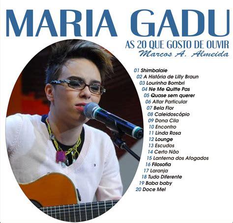 TURMA DO FLAMENGUINHO: AS 20 QUE GOSTO DE OUVIR DA MARIA GADU