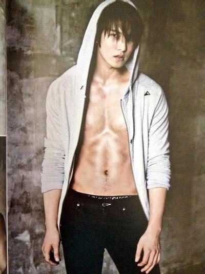 whos  kpop male idol    abs updated