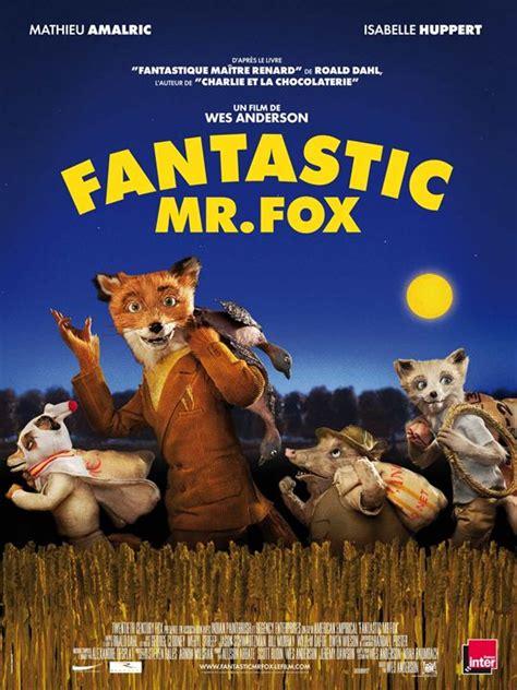 affiche du film fantastic  fox affiche  sur