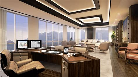 office view interior design decoration and fit out company in dubai Luxury