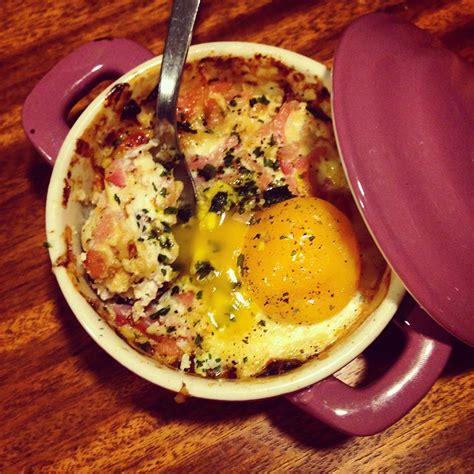 olivier cuisine oeuf cocotte ricotta et bacon papa en cuisine