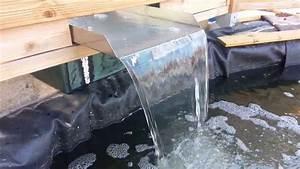 bassin quot lame d39eau quot maison youtube With utilisation eau de pluie maison