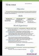 Word Resume Template Common Resume Formats Cv Template Word Simple Microsoft Word Functional Resume Template Resumes And CV Templates My Perfect Resume Templates