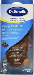 Free shipping automatically applied at checkout. Dr. Scholl's men's ultra soft leather insoles for dress ...