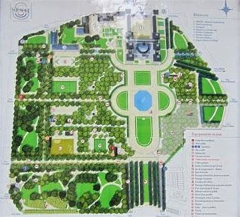 Jardin Du Luxembourg Hours by Map Of The Park Picture Of Luxembourg Gardens