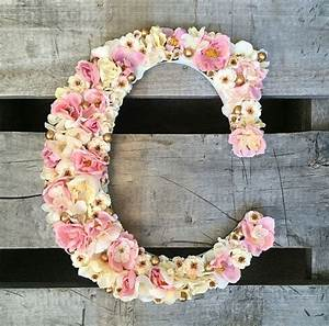 17 best ideas about flower letters on pinterest With giant flower letters