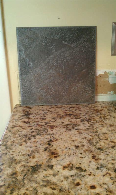 backsplash to go with giallo napoli granite