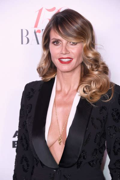 Heidi Klum Photos Harper Bazaar Celebrates