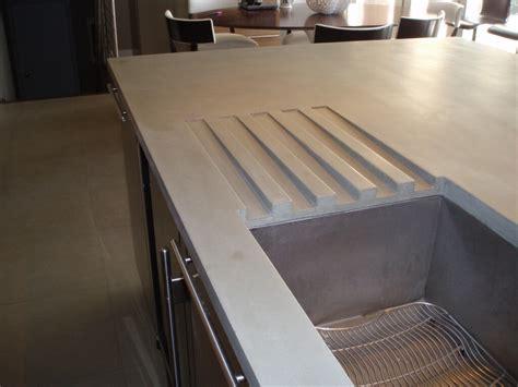 unique kitchen faucet concrete countertop detail images custom