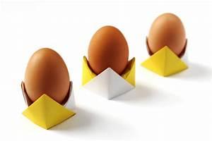 Eierbecher Selber Machen : origami zu ostern falten 10 einfache und h bsche ideen ~ Lizthompson.info Haus und Dekorationen