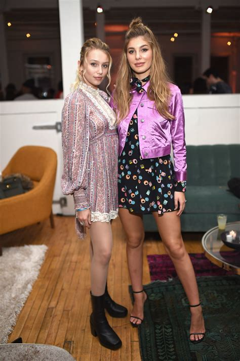 Cailin Russo and Cami Morrone attend Marc Jacobs Beauty ...