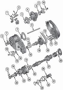 Diagram Transfer Cases Jeep Sj Grand Wagoneer 1962  1991